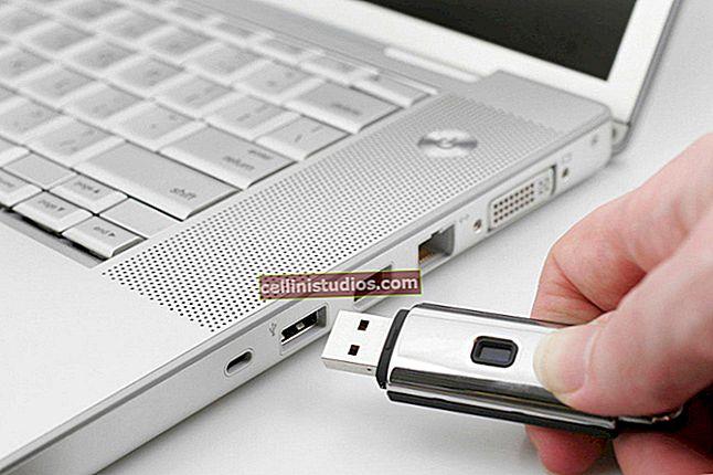 Cara memformat flash drive USB di komputer dan telepon