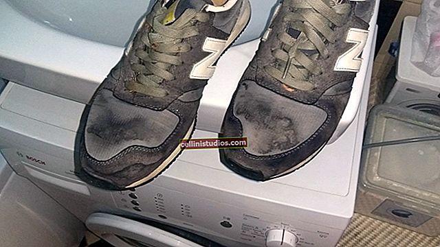 Cara mencuci sepatu kets Anda dengan mesin
